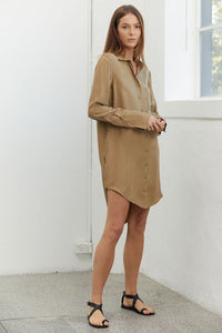 Third Form Shadow Play Oversized Shirt Dress.