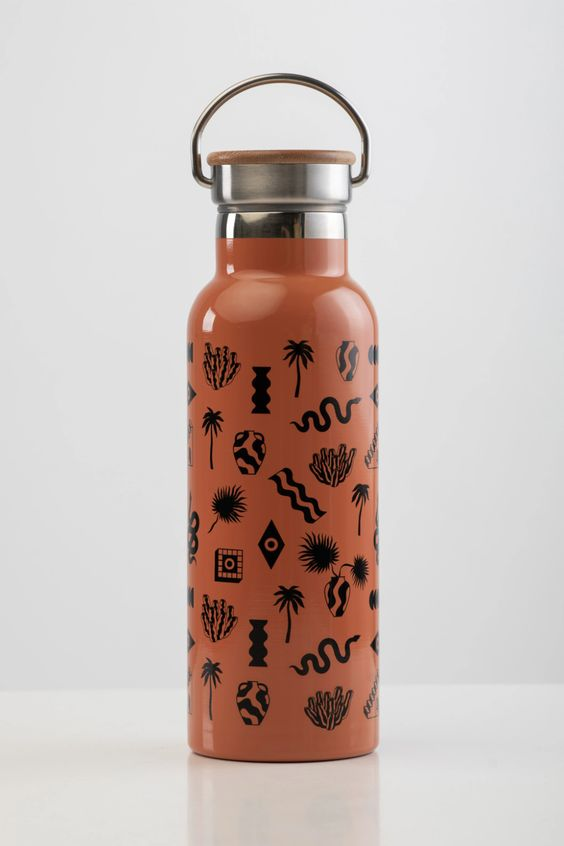 Sora Water Bottle - Rust