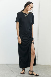 Third Form Lure in Maxi Tee Dress