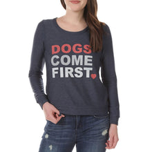Load image into Gallery viewer, Chaser Dogs Come First Sweatshirt