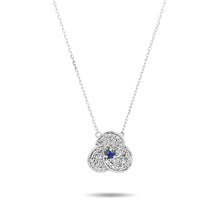 Load image into Gallery viewer, Adina Reyter Sapphire Petals Necklace