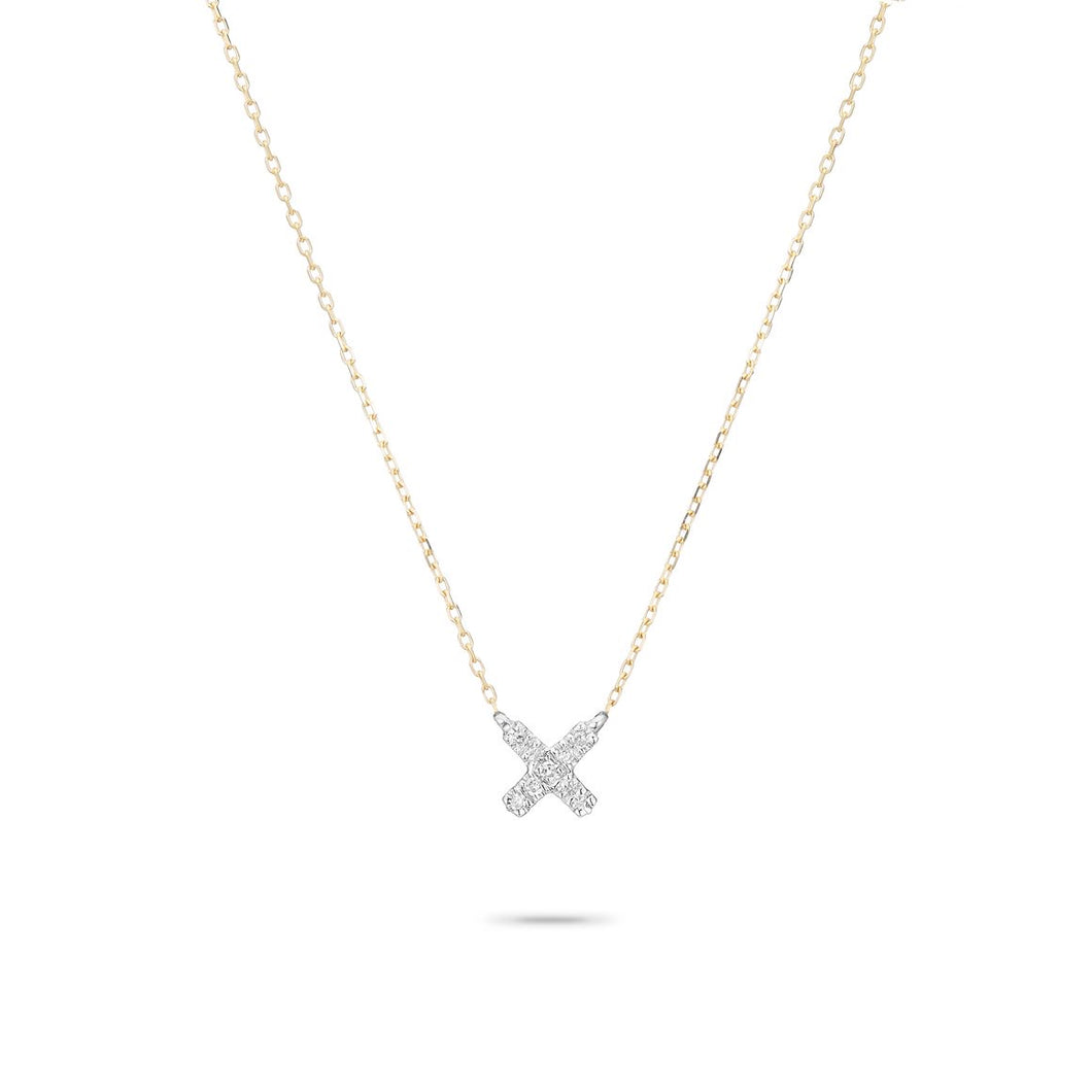 Adina Reyter Super Tiny X Necklace