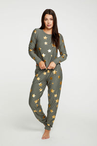 Chaser Gold Star Pants - Safari