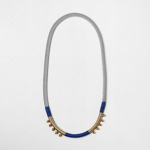 Pichulik Royale Blue Bell necklace with bells