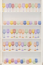 Load image into Gallery viewer, Estelle Colored Glass Stemless 6 Assorted