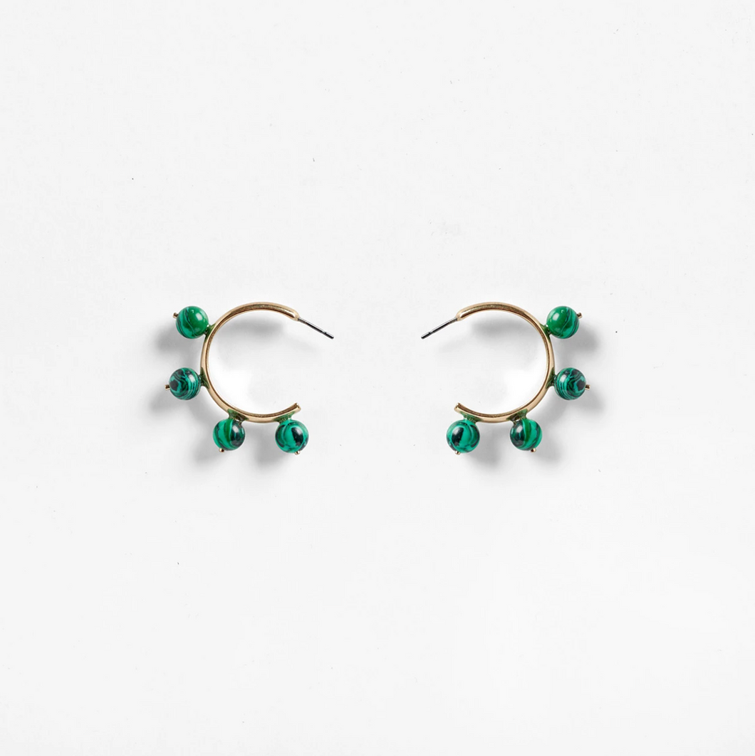 Pichulik Garland hoop earrings