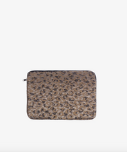 "Load image into Gallery viewer, HVISK 13"" Computer Sleeve - Leopard Silver Multi"