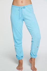 Chaser Lounge Pant Neon Blue