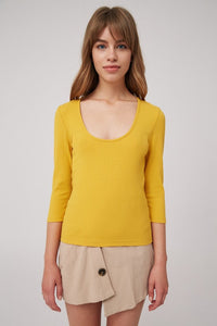The Fifth Label Solar LS Top (mustard)