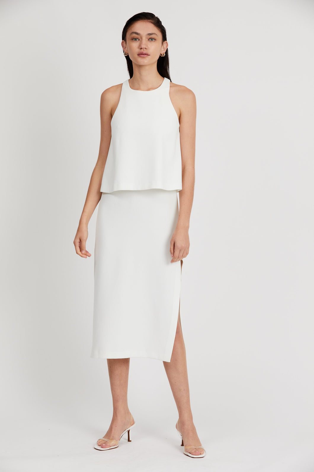Third Form Double Up High Neck Dress
