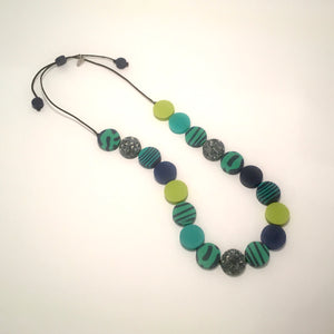 Multi Circle Resin Necklace