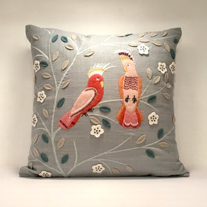 Parakeet Pillow