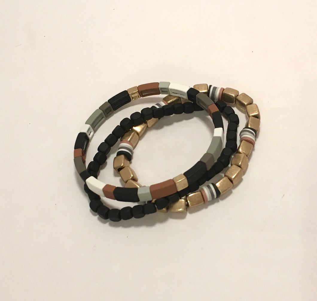 3-piece Stretch Bracelet