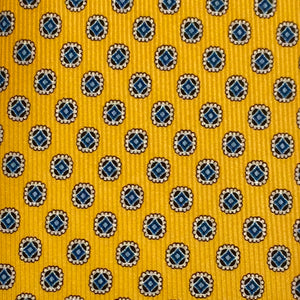 Extra-Long Printed Silk Necktie