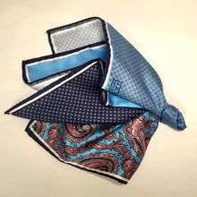 Load image into Gallery viewer, 4-Panel Pocket Square