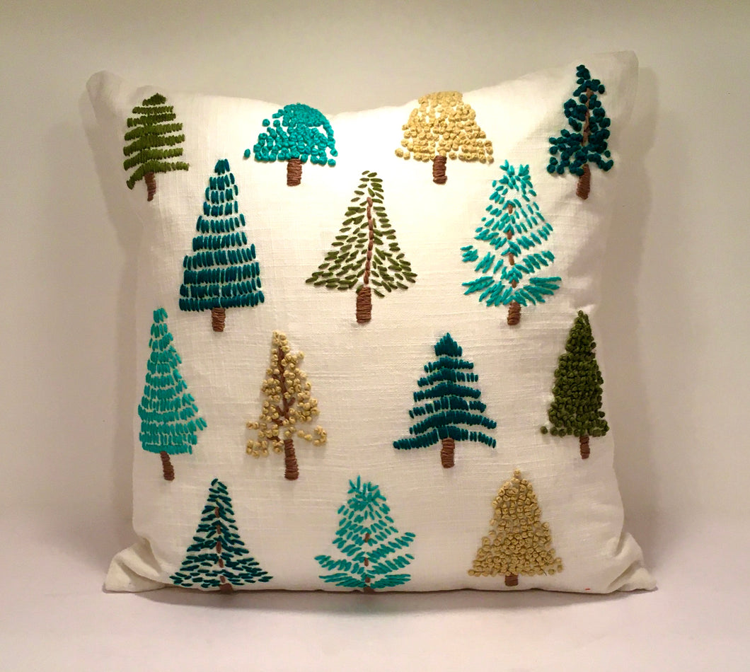 Alpine Evergreen Pillow