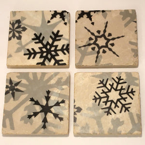 Marble Holiday Trivet, Coaster and Winestopper
