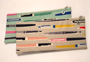 Cotton Print Pencil Bag