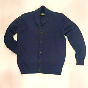 Men's Cotton/Cashmere Cardigan