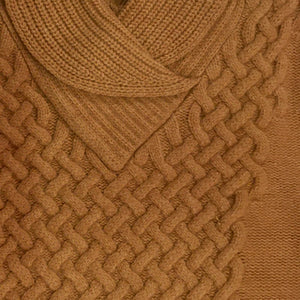 Men's Wool Shawl Collar Sweater