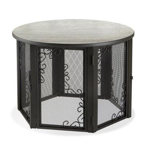 Accent Table Pet Crate