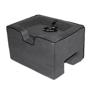 Pet Car Booster Seat - Medium-charcoal