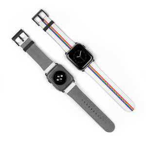 Minimalist Apple Watch Band (White)