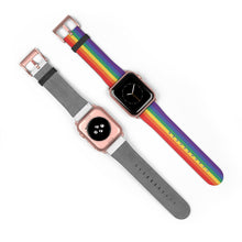 Load image into Gallery viewer, Traditional Rainbow Apple Watch Band
