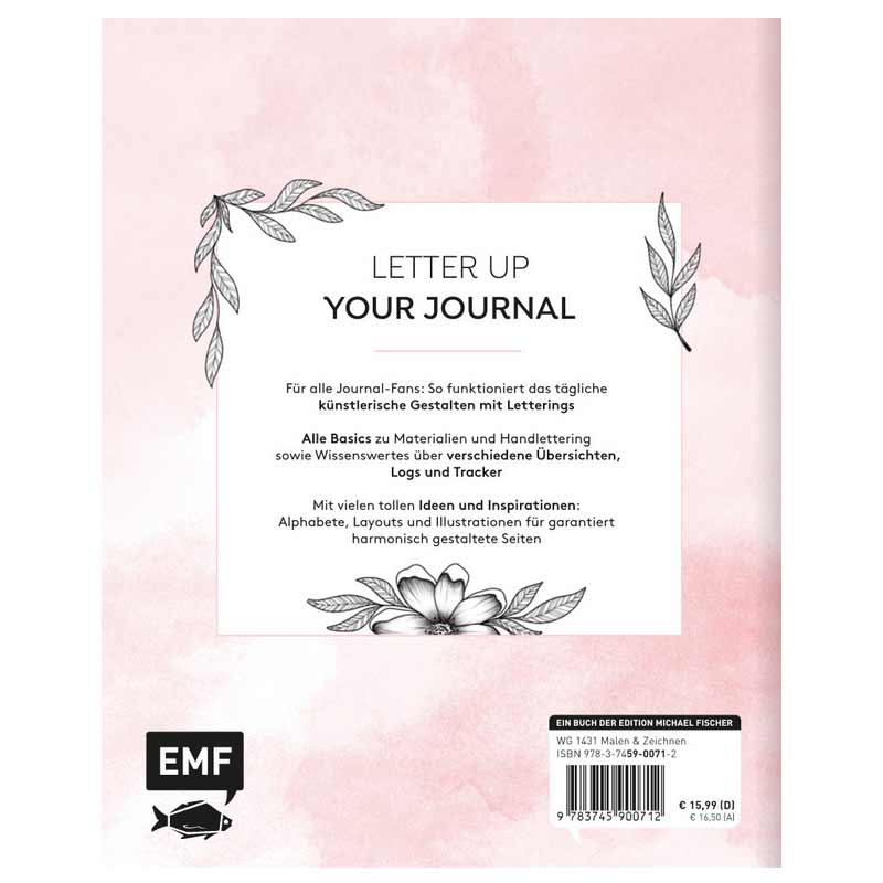 EMF / Handletter your Journal / Alphabete und Layout