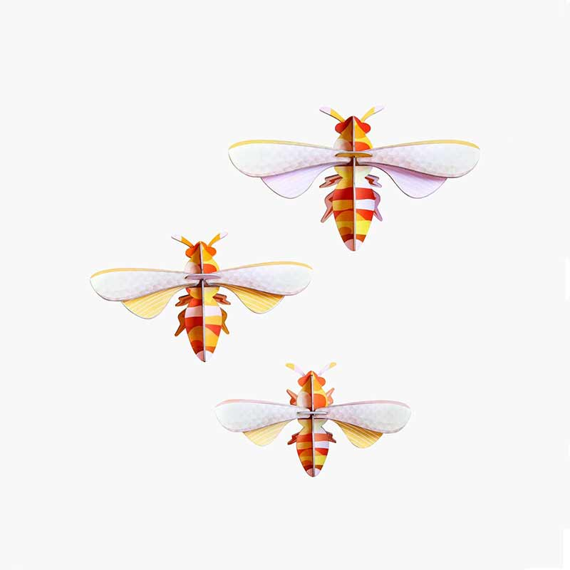Honey Bees / Set of 3