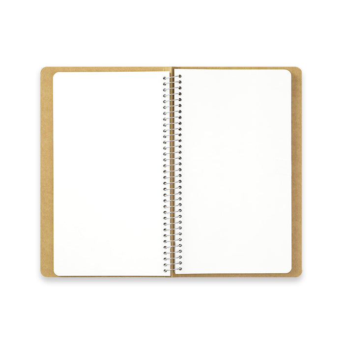 Travelers-Company / TRC / SPIRAL RING NOTEBOOK / Blank MD Paper White / A5 slim / Hochformat