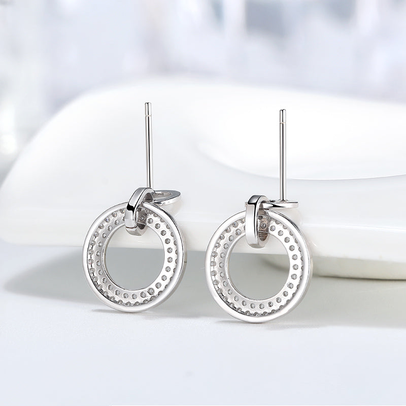 Blinding Circle Earring