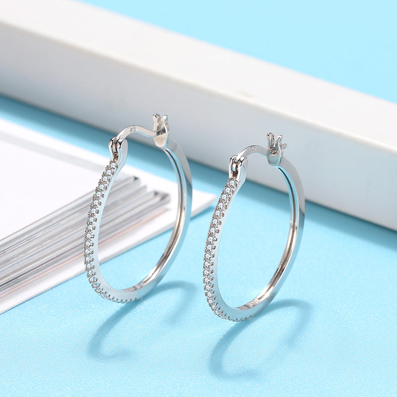Spherical Hoop Earring