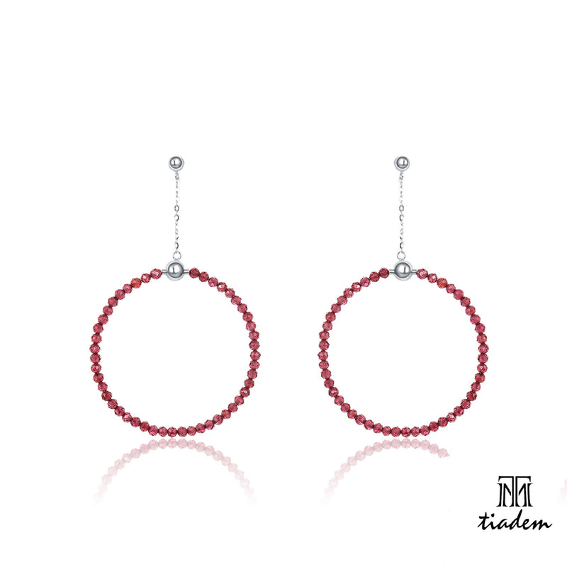 Artistry dangling loop Earring