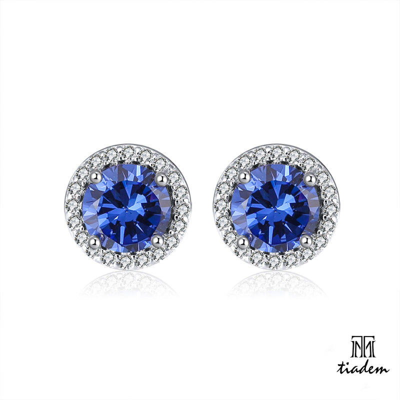 Signature Blue Earring