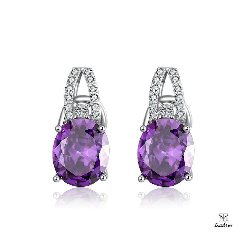 Superfect Purple Earring