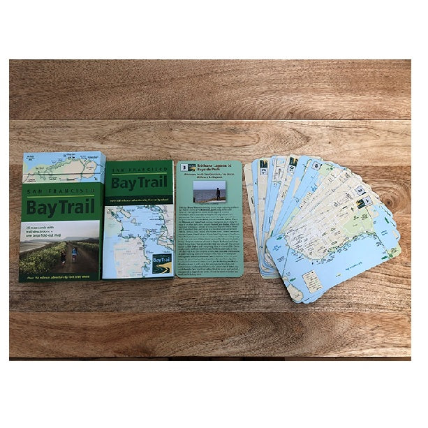 San Francisco Bay Trail Map Deck