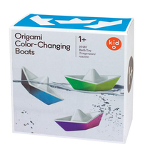 Load image into Gallery viewer, Kid O Origami Color-Changing Boats