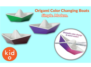 Kid O Origami Color-Changing Boats