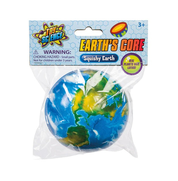 Earth's Core Squishy