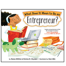 Load image into Gallery viewer, What Does It Mean to Be an Entrepreneur? Hard cover Book