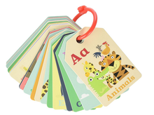 Load image into Gallery viewer, Tiger Tribe Flash Cards, Animal ABC Learning Toy