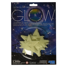 Load image into Gallery viewer, Toysmith Glow-In-The-Dark Stars  16 pieces