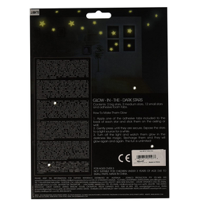 Toysmith Glow-In-The-Dark Stars  16 pieces