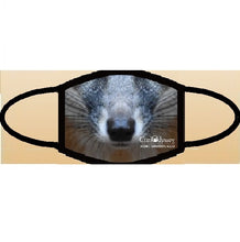 Load image into Gallery viewer, CuriOdyssey Gray Fox ADULT Face Mask