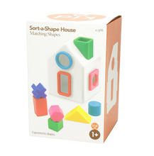 Load image into Gallery viewer, Kid O Sort-a-Shape House