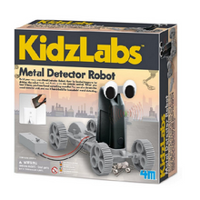 Load image into Gallery viewer, 4M KidzLabs Metal Detector Robot