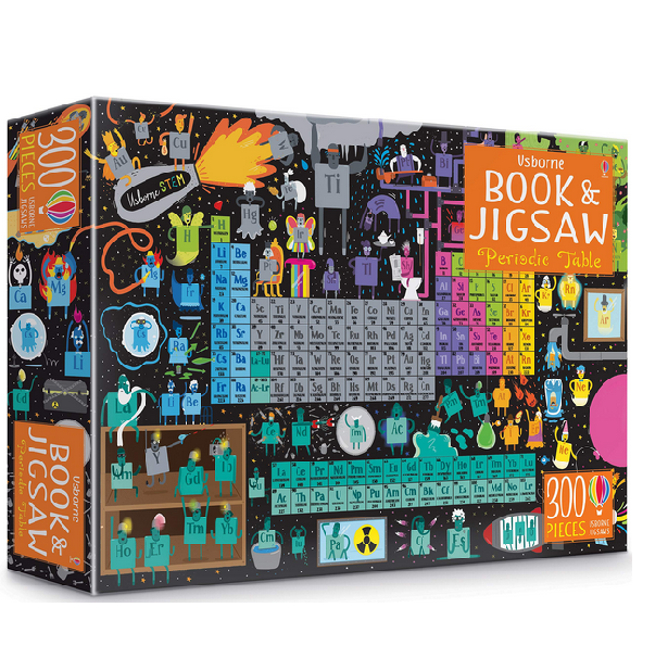 Usborne Book & Jigsaw Puzzle Periodic Table 300 pcs