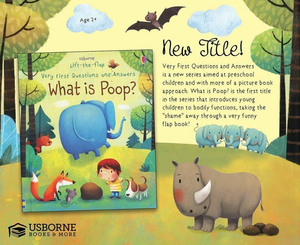 Lift-the-flap What is Poop?