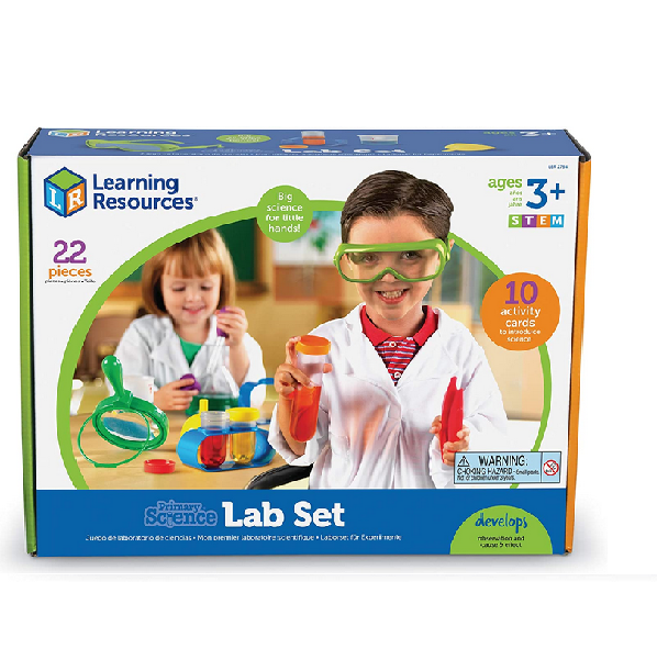 Learning Resources Primary Science Lab Activity Set, 22 Pieces